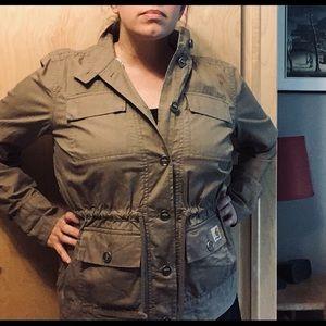 Carthartt Women's Dark Oat Voyager Jacket